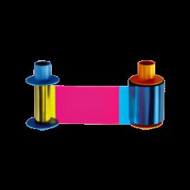 รูปของ HID YMCKO Full Color Ribbon - 500 Images (PN:45610) หมึก สี สำหรับรุ่น DTC1500