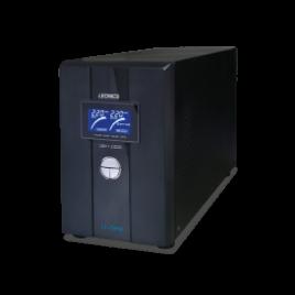 รูปของ LEONICS USV-1000 1000VA/600W PURE SINE WAVE UPS เครื่องสำรองไฟ