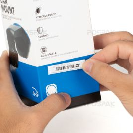 SENSORMATIC APX White Sheet Label  ฉลากติดสินค้าสำหรับระบบ EAS System