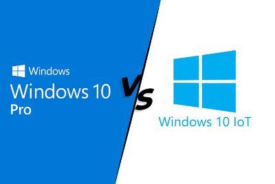 Windows 10 IoT  กับ Windows 10 Pro ต่างกันยังไง?