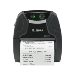 Picture of ZEBRA ZQ320 เครื่องพิมพ์ใบเสร็จแบบพกพา Mobile Receipt Printers (BLUETOOTH)