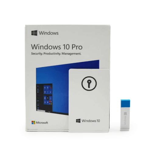 รูปของ MICROSOFT Windows 10 Pro 32/64 Bit ENG FPP (PN:HAV-00060)