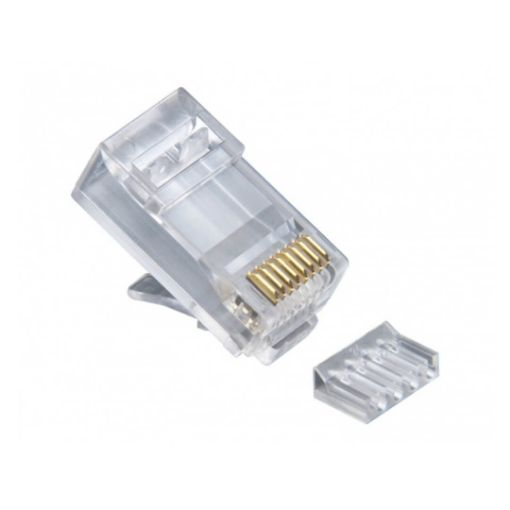 Picture of LINK US-1002 CAT 6 RJ45 Plug Unshield 2 Layer with pre-insert bar (10 Pcs/Pack)