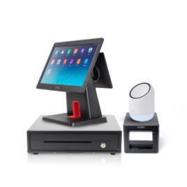 รูปของ ชุด POS ร้านค้าปลีก 2 จอ พร้อมใช้ iMin D3-505 + iMin X1 + EK350 + CT-D150 ฟรี แอปพลิเคชัน Loyverse