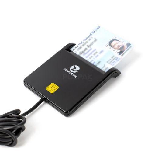 รูปของ ZOWEETEK ZW-12026-1 Smart Card Reader เครื่องอ่านบัตรสมาร์ทการ์ด