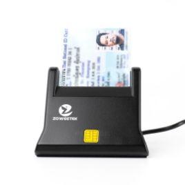 รูปของ ZOWEETEK ZW-12026-3 Smart Card Reader เครื่องอ่านบัตรสมาร์ทการ์ด