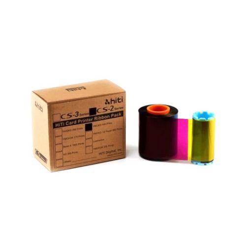 Picture of HITI YMCKO Ribbon หมึกสี สำหรับเครื่องพิมพ์บัตร HITI CS-200e