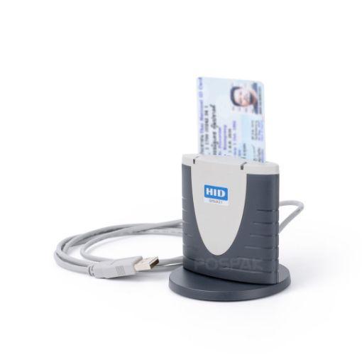 รูปของ HID OMNIKEY 3121 Smart Card Reader เครื่องอ่านบัตรสมาร์ทการ์ด (PN:R31210220-01)