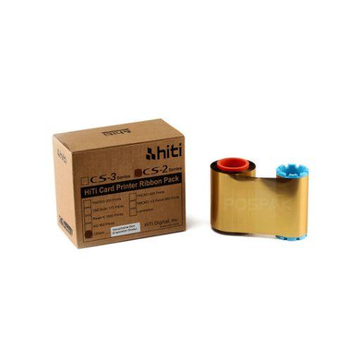 รูปของ HITI Gold Ribbon หมึกสีทอง สำหรับเครื่องพิมพ์บัตร HITI CS-200e