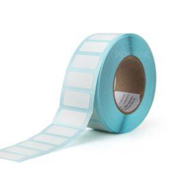 รูปของ ST.TT Size 20 x 10 mm (2 x 1 cm) Sticker 1,200 ดวง/ม้วน แกน 1.5 นิ้ว สติ๊กเกอร์กระดาษ กึ่งมันกึ่งด้าน (ใช้ร่วมกับ Wax Ribbon หรือ Wax Resin Ribbon)