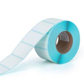 รูปของ ST.TT Size 35 x 25 mm (3.5 x 2.5 cm) Sticker 800 ดวง/ม้วน แกน 1.5 นิ้ว สติ๊กเกอร์กระดาษ กึ่งมันกึ่งด้าน (ใช้ร่วมกับ Wax Ribbon หรือ Wax Resin Ribbon)