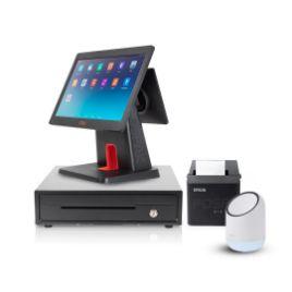 รูปของ ชุด POS ร้านค้าปลีก 2 จอ พร้อมใช้ iMin D3-505 + iMin X1 + EK350 + TM-T82x ฟรี แอปพลิเคชัน Loyverse