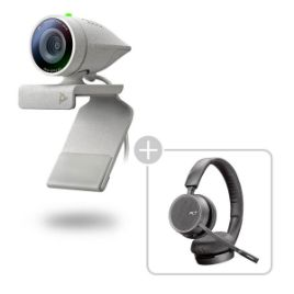 Picture of Poly Studio P5 kit with Voyager 4220  for video conferencing (PN:2200-87140-025)