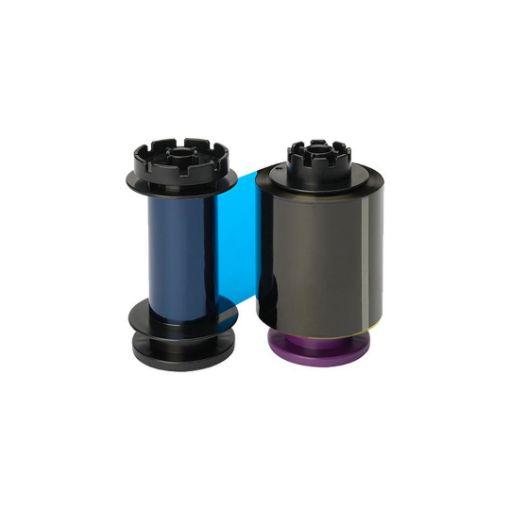 รูปของ EVOLIS YMCKK RT Color Ribbon ริบบอนสีหลังดำ 400 prints/roll (PN:RTF011SAA)