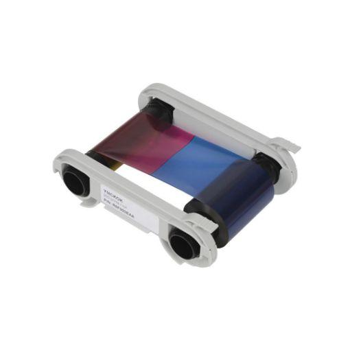 รูปของ EVOLIS YMCKO K Color Ribbon ริบบอนสีหลังดำ 200 prints/roll (PN:R6F003SAA)