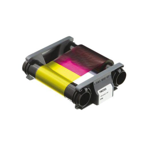 Picture of EVOLIS YMCKO Color Ribbon ริบบอนสี 100 prints/roll (PN:CBGR100C)