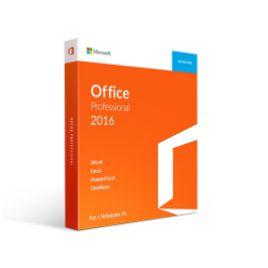 รูปของ MICROSOFT Office 2016 Professional PC (Box) 32/64 Bit