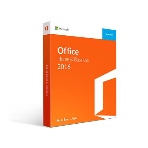 Picture of MICROSOFT Office 2016 Home and Business PC (Box) 32/64 Bit