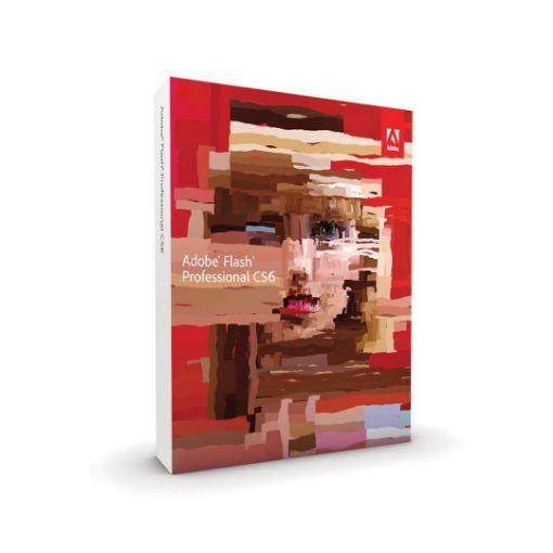 รูปของ ADOBE Flash Professional CS6 โปรแกรมสร้างอนิเมชั่น
