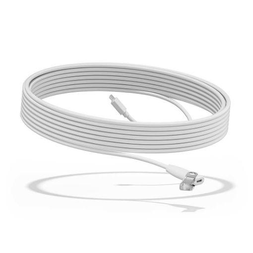 รูปของ LOGITECH Rally Mic Pod Extension cable (Off-White) สายต่อขยาย 10 เมตร  (PN:952-000047)