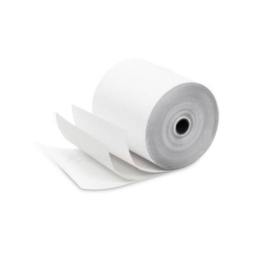 รูปของ กระดาษเคมี 3 ชั้น ขนาด 75 x 75  มิลลิเมตร สีขาว สีขาว สีขาว