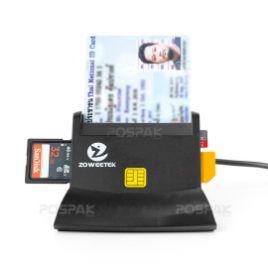 รูปของ ZOWEETEK ZW-12026-6 Smart Card Reader เครื่องอ่านบัตรสมาร์ทการ์ด